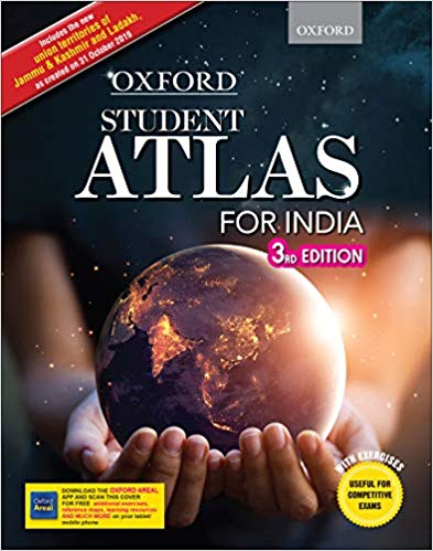 Oxford Student Atlas for India - Third Edition Paperback