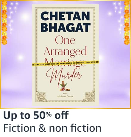 Amazon Great Indian Festival Fiction Book Offer Sales 2020