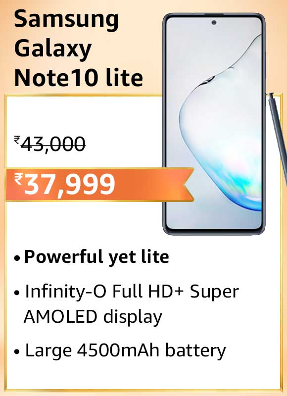 Amazon-Great-Indian-Festival-Samsung-Galaxy-Note-10-lite