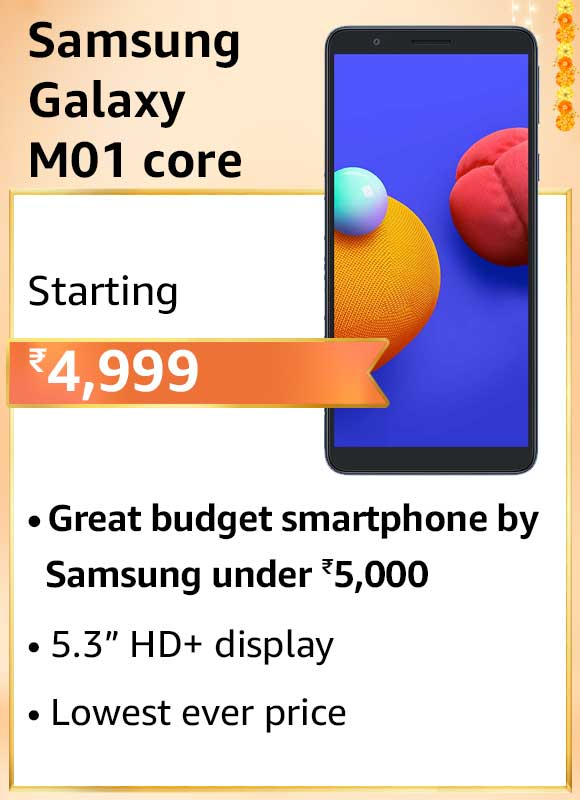 Amazon-Great-Indian-Festival-Samsung-M01-Core